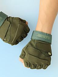 2015 New Fashion Outdoor Sport Man Gym Game Gloves Half Finger