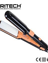 PRITECH Brand 2 IN 1 Perfect Hair Curler Aluminum Plate Wide Flat Iron Magic Hair Straightener Roller Curler