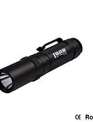 Mini Flashlight 200Lumens 70 Meters 14500 Li-ion Battery