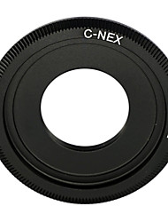 negro c montura del objetivo para Sony NEX-5 NEX-3 NEX5 NEX-C3 nex-VG10 adaptador de c-nex