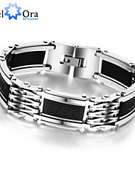 New 2015 Fashion Great Wall Pattern Stainless Steel Bracelets For Men Punk Bracelets & Bangles Jewelry Christmas Gifts