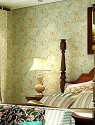 contemporary art deco papel de parede 3d retro retro papel de parede pastoral que abrange a arte de não-tecidos da parede da tela