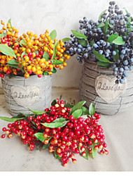 домой гостиная украшением небольшой ягоды искусственный цветок (1шт)