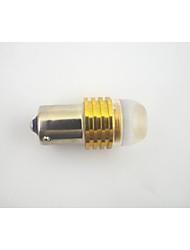 BA15S / 1156 1.5w1-cob levou luz amarela (12v)