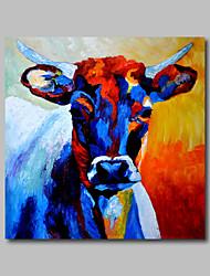 pintura a óleo pintados à mão na parede da lona de arte pop art animais vaca casa deco um painel pronto para pendurar