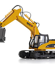 Fifteen Bulldozers, Digging Channel Full-function Remote Control Mining Large Car 2.4 G Remote Control Truck