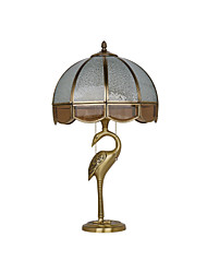 All-copper Lamp European Antique Copper Decorative Light Table Lamps Room Lights Bedroom Lamps Study Lamp