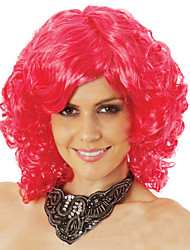 Europe and The United States Red Wig Short Roll Quality Curly Hair Fashion Festival