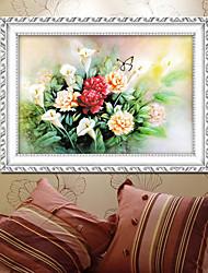 DIY-Kit Kreuzstich, Blumen 75 * 55
