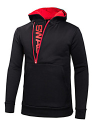 stylish man The first set of men's casual side zipper color sweater