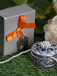 Round With Pearl Jewelry Box