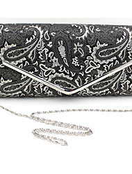 Women Formal / Casual / Event/Party / Wedding / Office & Career PU Magnetic Clutch / Evening Bag / Checkbook Wallet