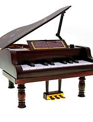 Mini Music Box Piano Music Box Simple And Stylish Valentine's Day Gift
