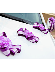 Rose Flower Decoration Car Door & Rearview Mirror(17*13cm)