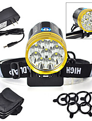 LT Headlamps / Bike Lights LED 12000 Lumens 4 Mode Cree XM-L2 18650Waterproof / Rechargeable / Impact Resistant / Strike Bezel / Tactical