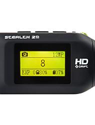 Foream Stealth 2 Sports Camera 1 12MP 1920 x 1080 / 2048 x 1536 / 1024 x 768 20x CMOS 32 GB English 10 MAnti-Shock / WiFi / Waterproof /