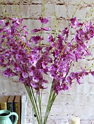 PU Orchidées Fleurs artificielles