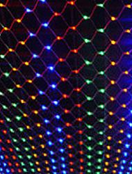 net décoration de jardin de lumière de Noël partout dans le ciel étoiles imperméable série de lampes 2 * 2m PVC 200 conduit 220v 12w