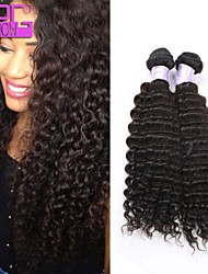 Kinky curly 2015 New Products High Quality Peruvian Human Hair