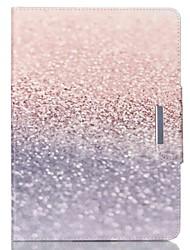 clignotant motif du désert PU cuir de cas complète du corps avec support pour iPad 2 d'air