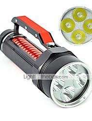 LT 2 Mode 6000 Lumens LED Flashlights 18650 Waterproof/Rechargeable/Impact LED Cree XM-L2