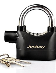 Joyluxy Goldiger Alarm Lock Anti-theft Motion Sensor Security Padlock with 3 Keys and 6 Replacement Batteries