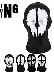 Bike/Cycling Face Mask/Mask Unisex Breathable / Ultraviolet Resistant / Dust Proof / Sunscreen Skulls Free SizeCamping & Hiking /