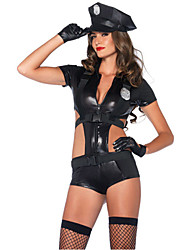 Chapeau - Costumes de carrière - Féminin - Halloween - Collant / Fabrication CAP / Badge