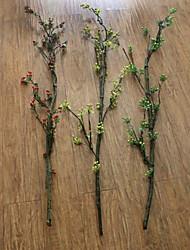 Seda / Poliestireno / Gel de Sílice Plantas Flores Artificiales