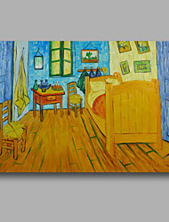 Hand-Painted Abstract Oil Painting Canvas Van Gogh repro Bedroom Heavy Oil Home Deco one Panel