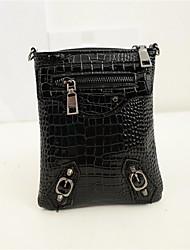 Women PU Sling Bag Shoulder Bag - Beige / Gold / Silver / Black