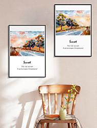 anvas Print with Frame for European Minimalist Style 2pcs/set