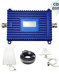repetidor 850mhz CDMA UMTS 850 señal de teléfono celular de refuerzo repetidor de Sinal de gsm celular 850 kits del repetidor de señal móvil