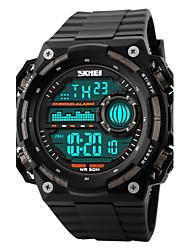 SKMEI Hommes Montre de Sport Montre Bracelet Montre numérique Numérique LCD Calendrier Chronographe Etanche penggera Montre de Sport