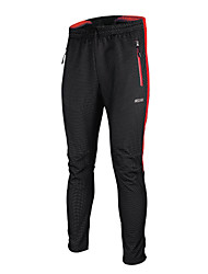 ARSUXEO® Cycling Tights Men's Breathable / Thermal / Warm / Windproof / Anatomic Design / Fleece Lining / Wearable Bike