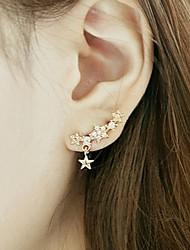 JY Jewelry Full drill little star pendant earring