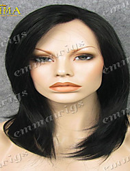 Hot Sale Lace Wig Hand Tied Lace Front Wig on Sale EMMA Wigs the Best Wigs Store Natural Black Wig Layerd Wig