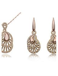 IDOO Fashion Necklace / Earrings  Sets