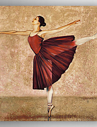 Oil Painting Ballet Painting Hand Painted Canvas with Stretched Framed