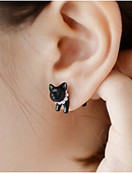 JY Jewelry Small animal pearl stud earrings