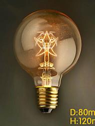 e27 40w g80 église Edison étoiles mariage commercial bar-restaurant lampe décorative rétro