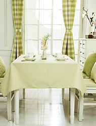 Green Striped Design  Jacquard  Tablecloths Fabric Tea Tablecloth