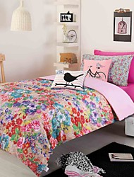 100% Printed Polyester Microfiber with 100% Polyester Quilt 47inches