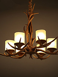 Chandeliers / Pendant Lights LED Vintage Living Room / Bedroom / Dining Room / Study Room/Office / Game Room Resin