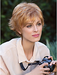 Top Quality Fashion Short Curly Blonde Wig Woman's Synthetic Wigs