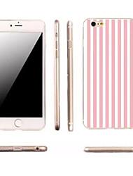 iPhone 7 Plus Slim Vertical Stripes TPU Material Phone Case for iPhone 6/6S