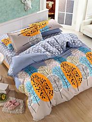 mingjie® anoitecer rainha amarelo e twin tamanho cama lixar define 4pcs para meninos e meninas roupa de cama china