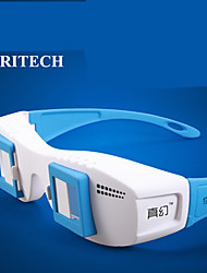 RITECH Premium Anaglyph Universal Zoom Style 3D Glasses for TV/Computer/Projector