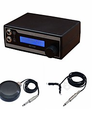 FTTATTOO® LCD Digital Tattoo Power Supply with Plug Clip Cord Foot Pedal