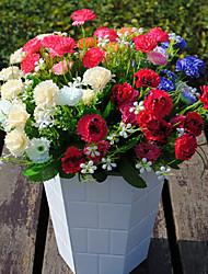 Пластик Гвоздика Искусственные Цветы